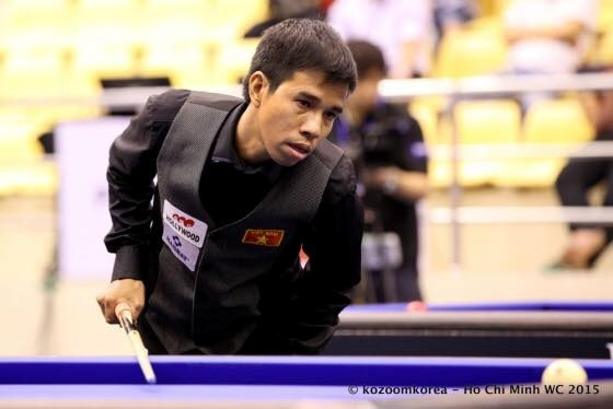 Vietnamese cueists compete at world Billiards event hinh anh 1