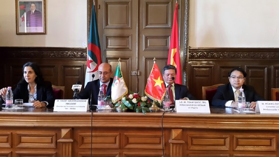 Vietnam, Algeria step up economic ties hinh anh 1