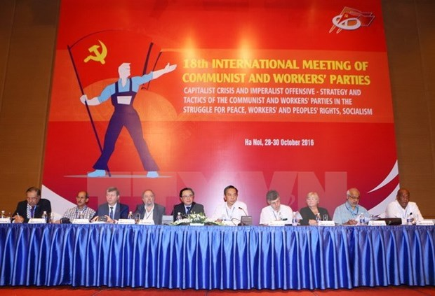 Communist parties' meeting concludes in Hanoi hinh anh 1