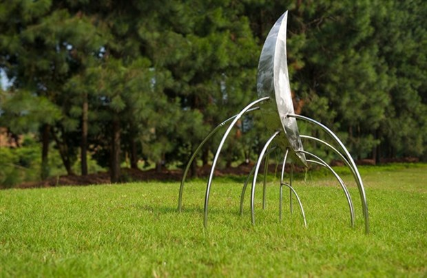 Sculptors supplement the art of the forest hinh anh 1