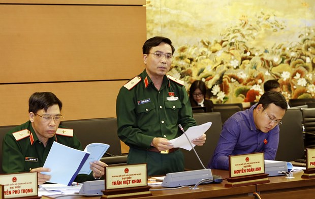 Five draft laws submitted to parliament for deliberation hinh anh 1