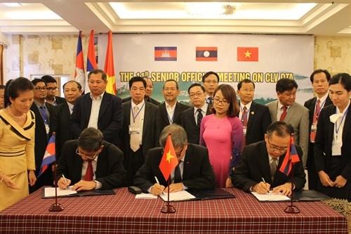 Cambodian, Lao, Vietnamese senior officials gather in Dak Nong hinh anh 1
