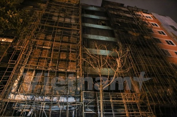 Criminal proceedings taken against fire prevention violations in Hanoi hinh anh 1