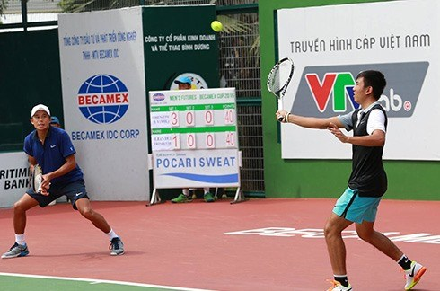 No 4 seed Nam out of Men's Futures singles hinh anh 1