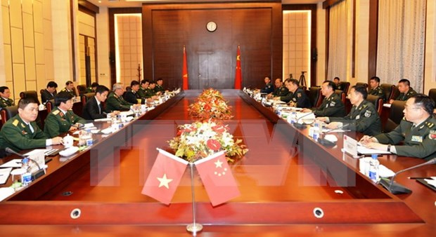 VN, China hold 6th deputy ministerial-level defence strategic dialogue hinh anh 1