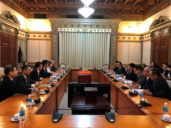HCM City, Guangdong province hold immense cooperation potential hinh anh 1