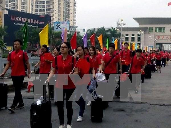 Third Vietnam-China Youth Festival kicks off in Lang Son hinh anh 1