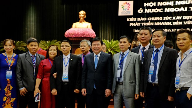 Vietnamese expats vow to develop HCM City hinh anh 1