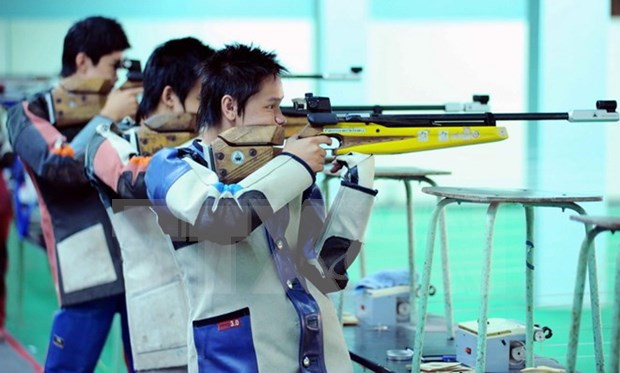 Vietnam leads SE Asian Shooting Association Champs 2016 hinh anh 1
