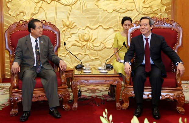 Laos values cooperation with Vietnam in border area development hinh anh 1