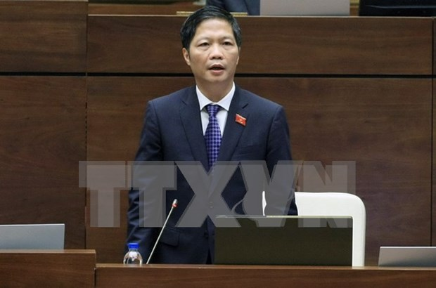 Mixed views on industry minister's answers to questions at NA session hinh anh 1