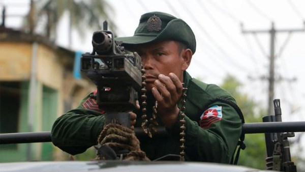 Myanmar: 35 suspected violent attackers arrested hinh anh 1