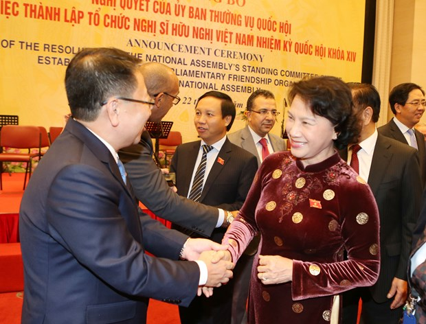 14th NA's parliamentary friendship organisation set up hinh anh 1