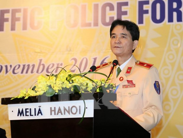 ASEAN Traffic Police Forum adopts joint statement hinh anh 1
