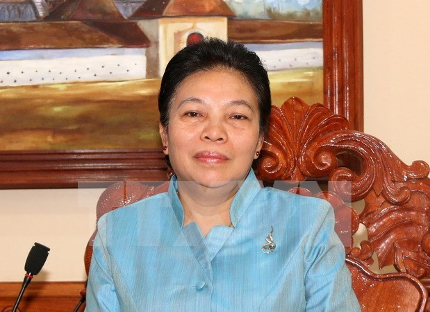 Lao official highlights Vietnamese Party leader's visit hinh anh 1