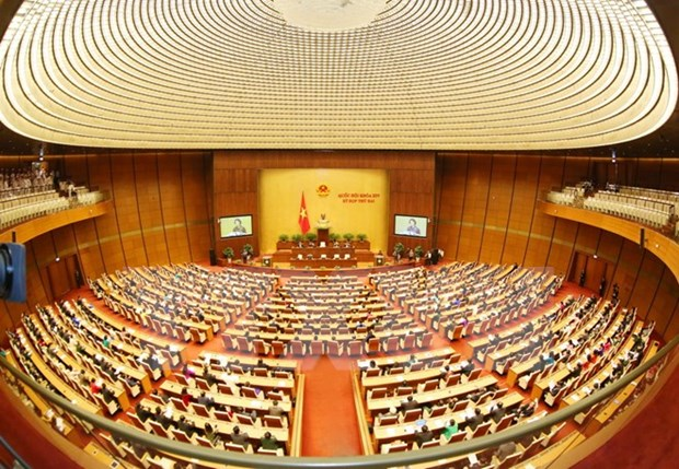 14th National Assembly concludes second session hinh anh 1