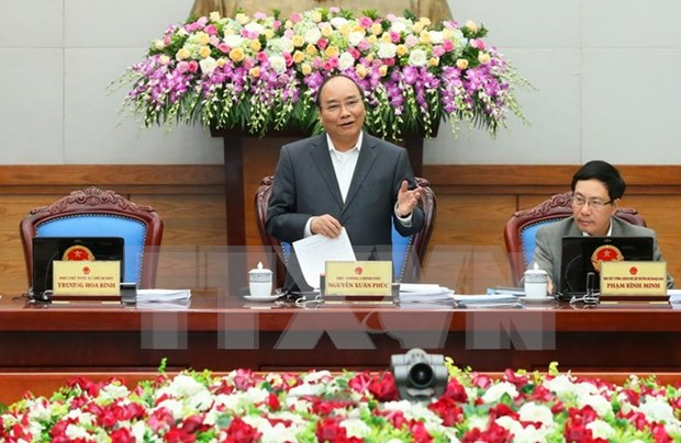 PM urges concerted efforts to fulfill 2016 socio-economic goals hinh anh 1