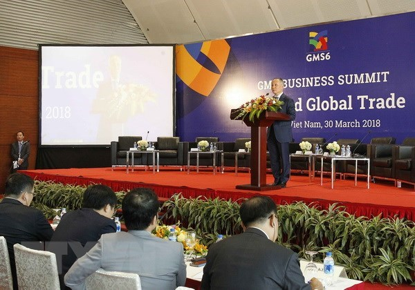 GMS countries seek to boost open trade, multilateral trade system hinh anh 1