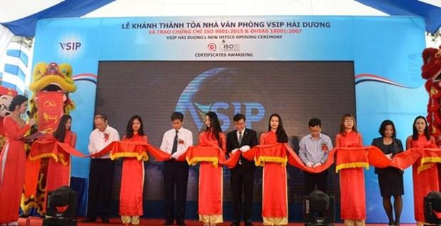 VSIP Hai Duong celebrates dual milestones hinh anh 1