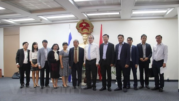 HCM City aims to tighten ties with Israel hinh anh 1