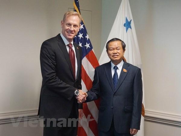 Legislator's visit enhances Vietnam-US Comprehensive Partnership hinh anh 1