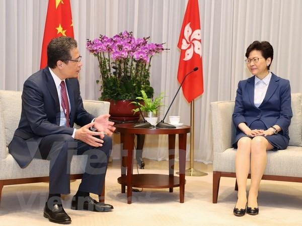 Measures put forth to boost Vietnam – Hong Kong ties hinh anh 1