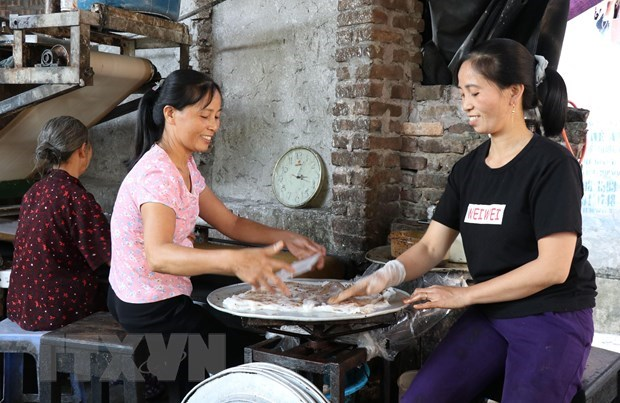 Mao Dien rolled rice pancake – special treat for visitors to Bac Ninh hinh anh 3