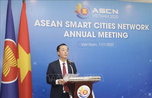 ASEAN Smart Cities Network convenes 3rd conference hinh anh 1