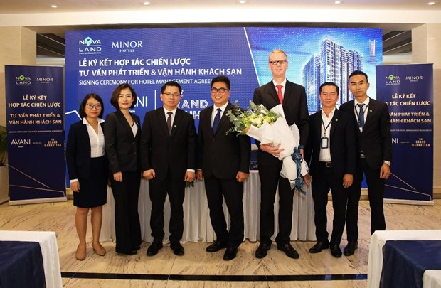 Novaland Group partners with Minor Hotel to manage 5-star int'l hotel in HCM City hinh anh 1