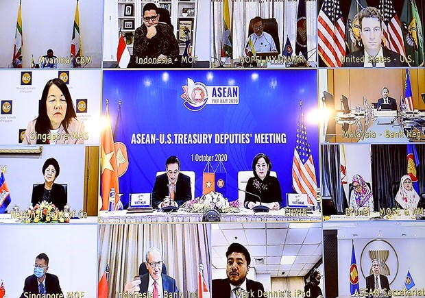 ASEAN, US promote finance-banking cooperation dialogue hinh anh 2