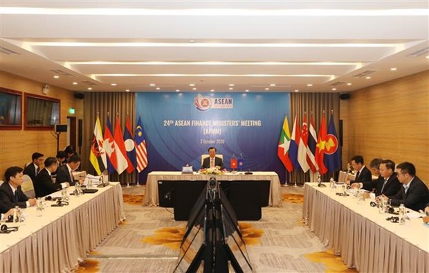 ASEAN reviews intra-bloc finance cooperation hinh anh 1