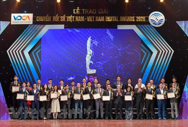 Vietnam Digital Awards 2020: nearly 60 outstanding enterprises honoured hinh anh 1