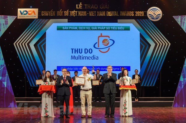 Vietnam Digital Awards 2020: nearly 60 outstanding enterprises honoured hinh anh 2
