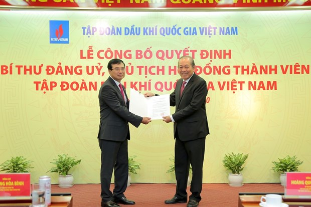 PetroVietnam has new chairman of members' council hinh anh 1