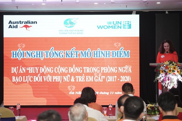 Male pioneers' model in prevention of gender-based violence scaled up hinh anh 1