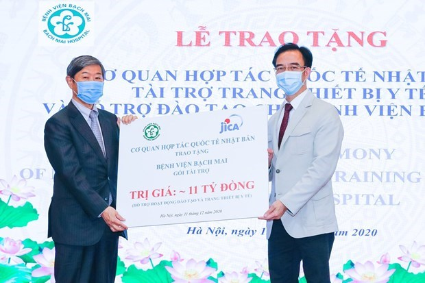 JICA pledges to bolster comprehensive health care cooperation with Vietnam hinh anh 3