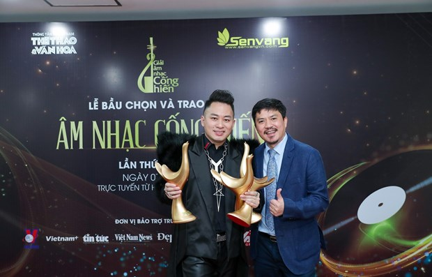 Divo Tung Duong wins three major prizes at 2021 Devotion Music Awards hinh anh 1