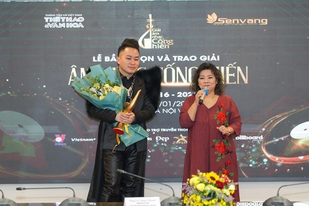 Divo Tung Duong wins three major prizes at 2021 Devotion Music Awards hinh anh 3