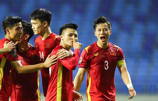 Vietnam retain top of Group G after trouncing Indonesia 4-0 hinh anh 1