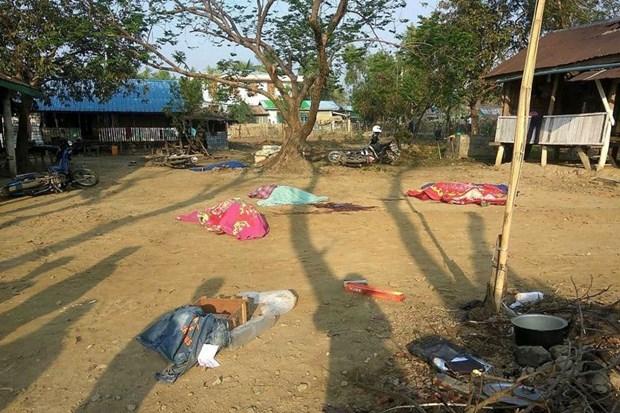 Nine Myanmar policemen die in Rakhine attack hinh anh 1