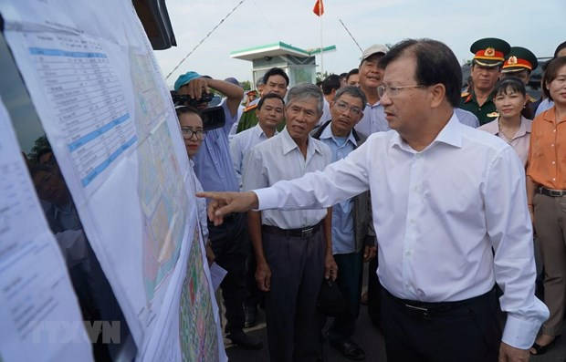 Deputy PM pushes construction of Long Thanh int'l airport hinh anh 1