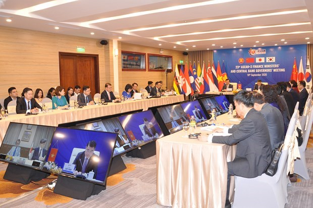 ASEAN+3 discusses ways to prevent COVID-19, boost economic recovery hinh anh 4