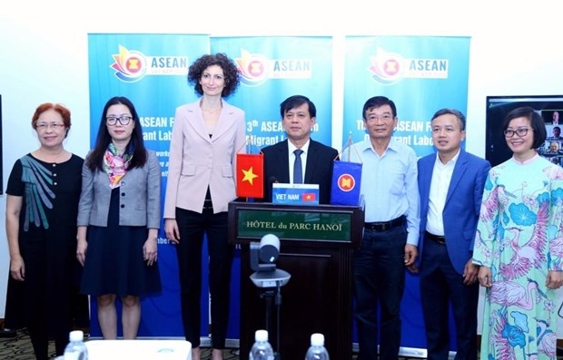 Vietnam hosts 13th ASEAN Forum on Migrant Labour hinh anh 1