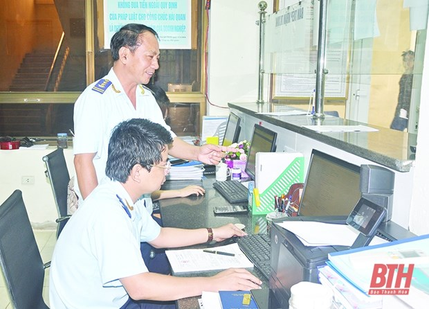 Thanh Hoa Customs Department resolves to facilitate import, export of goods hinh anh 1