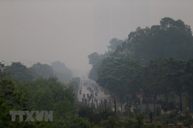 Vietnam steps up measures to improve air quality hinh anh 1