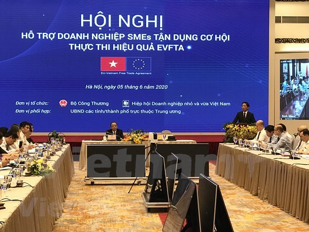 Supporting SMEs to take advantage of opportunities,effectively implement EVFTA hinh anh 1
