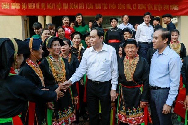 90 years of Vietnam Fatherland Front: National unity promoted hinh anh 3