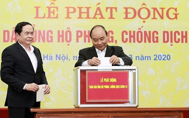 90 years of Vietnam Fatherland Front: National unity promoted hinh anh 2