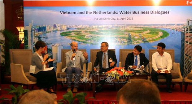 Vietnam, Netherlands cooperate in water management in Mekong Delta hinh anh 1