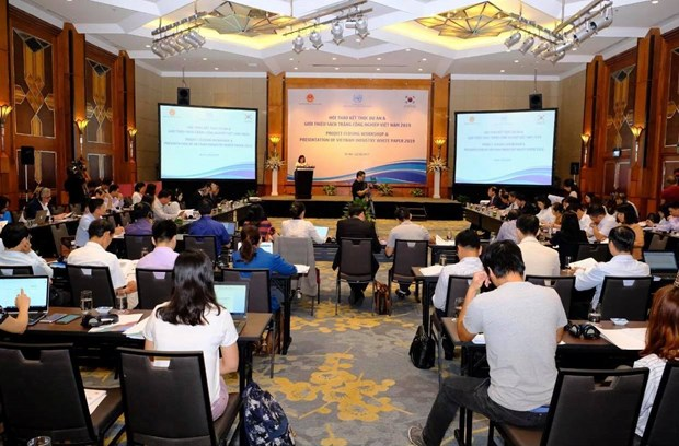 Vietnam Industry White Paper 2019 released hinh anh 1